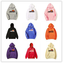 Men's and women Vintage ELLESSE Itallia Logo Hoodie Sweatshirt Men/Women Tracksuit Sweatshirt(China)