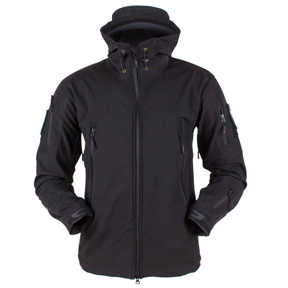 Outdoor Soft Shell Fleece Men And Women Windproof Waterproof Breathable Warm Three-In-One Coat Shark Leather Jacket