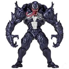Marvel Character Venom in Movie The Amazing Spiderman BJD Figure Model Toys 17cm