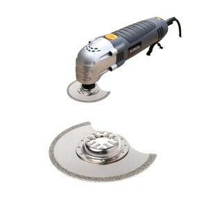 Image 2 - Lame de scie multi outils oscillante à Segment de diamant de 88mm pour Chicago Bosch Makita Dls