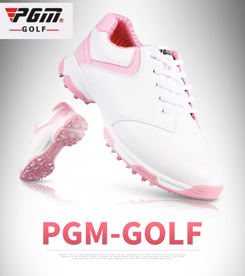 2017 PGM The latest design Ladies golf shoes anti-side slip nail outdoor women ultra-light waterproof breathable Golf Sneakers pgm authentic golf shoes men waterproof anti skid high quality male sport sneakers breathable shoes