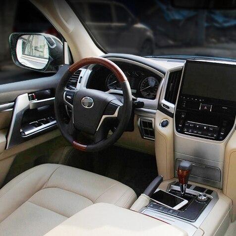 2016 Car Interior Dashboard Styling Moulding For font b Toyota b font Land Cruiser 200 FJ200