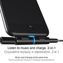 Hoco 2 in 1 Audio Converter Adapter
