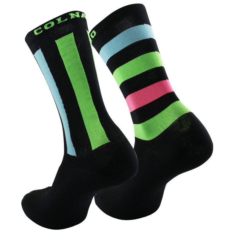 2018 Bmambas Men Cycling Socks High Elasticity Soft Sports Socks Deodorization Breathable For Compression Socks