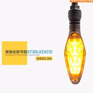 Image 3 - Spirit Beast LED, feux de direction modifiés pour motos, éclairage Super lumineux et étanche, 2 pièces/lot