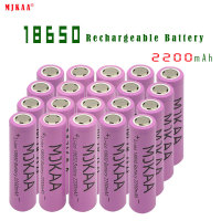 High Quality Icr18650 Lithium Pink 2200mah 3.7 V Li ion Rechargeable Flat Top Batteries