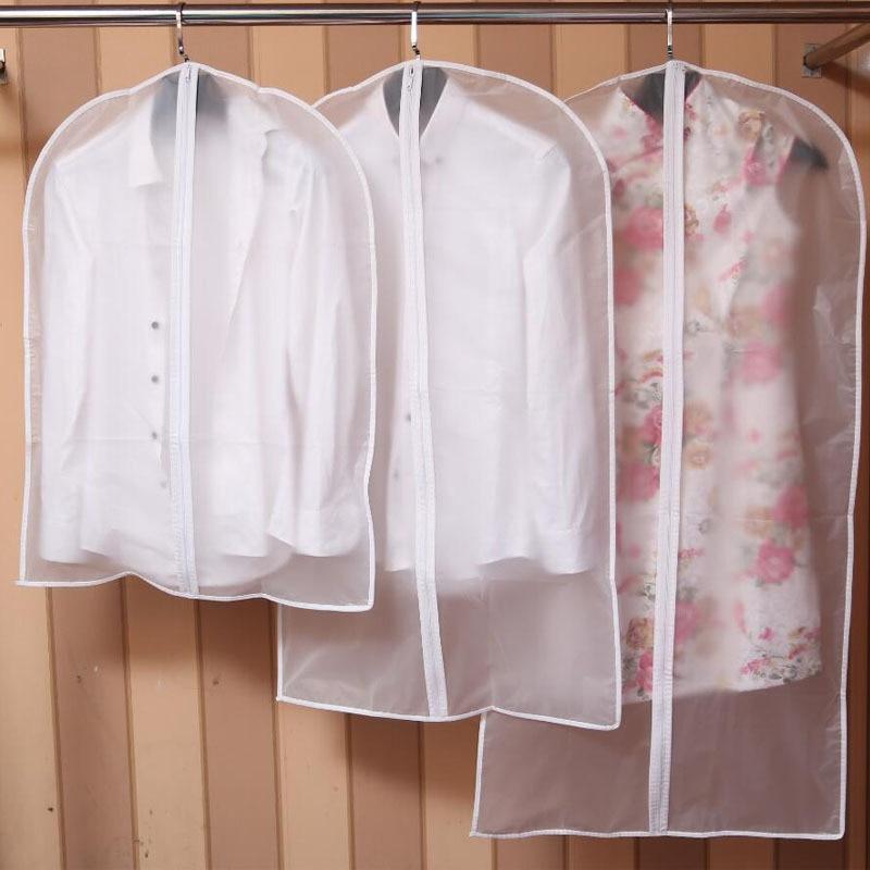 Zipper Bags For Storing Clothes Garment Suit Coat Dust
