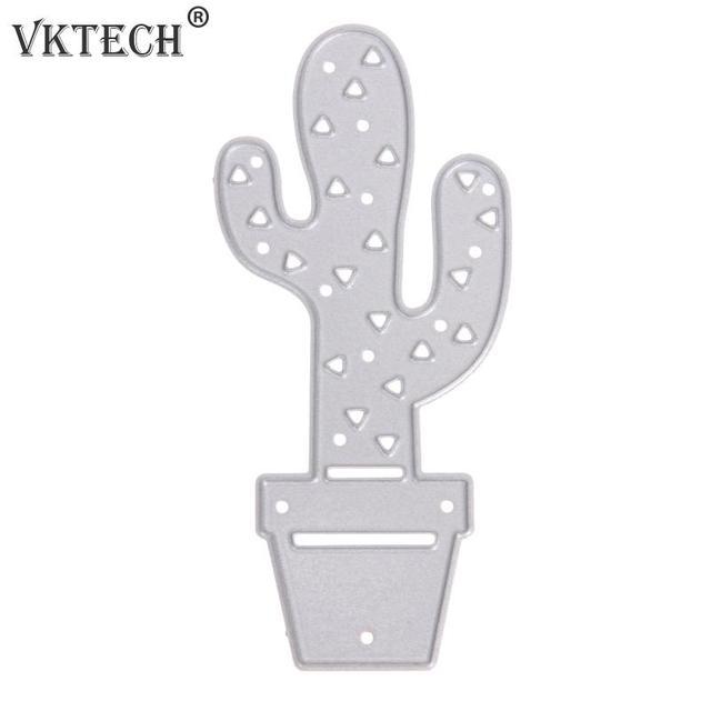 Cactus patrón Recortes de papel stencil para DIY scrapbooking muere ...