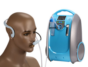 Image 3 - Medical and Health Care Battery Oxygen Concentrator Home Car and Outdoor Travel Use COPD Heart Respiratory Disease O2 Generator