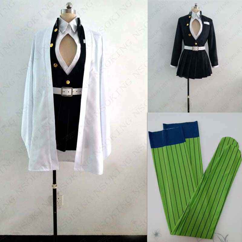 Anime Demon Slayer: Kimetsu No Yaiba Kanroji Mitsuri Cosplay Costume Custom Made