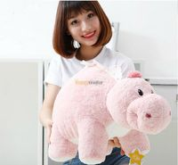 Fancytrader 1 pc 28'' / 70cm Big Stuffed Soft Plush Funny Lovely Animal Dinosaur Toy, 3 Colors Available, Free Shipping FT50798