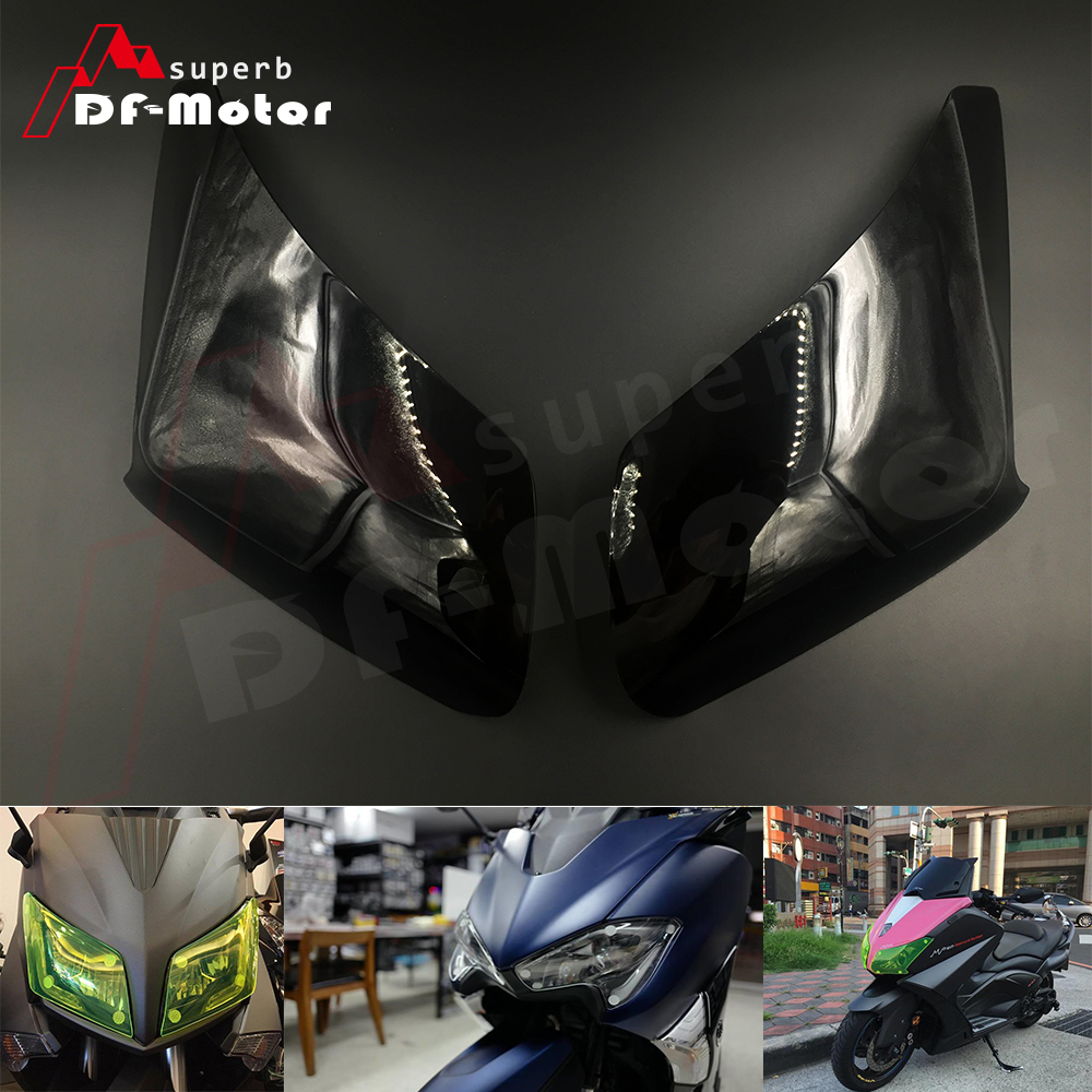 Headlight Lens Protector Cover for YAMAHA TMAX 530 TMAX530 DX SX 2012 2013 2014 2015 2016 2017 2018