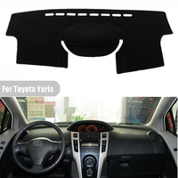 High Quality Car Dashboard Cover Light Avoid Pad Photophobism Mat Sticker For Toyota Yaris 2011