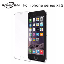 10Pcs 9H 2.5D Tempered Glass for iPhone 6 6S 5 5s 5c SE 2020 7 8 Plus screen protector Film on iPhone 11 Pro Max X XS XR XS MAX