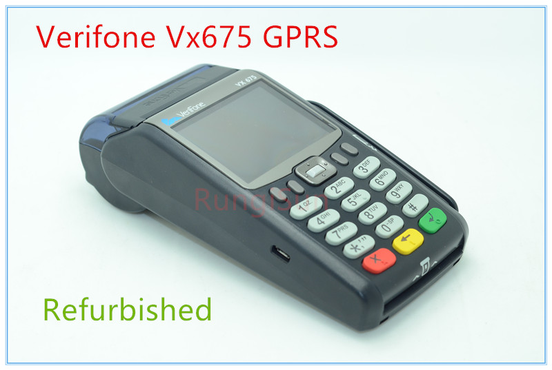 Verifone Refurbished Vx675 GPRS POS Terminals Credit card reader verifone vx610 omni 5600