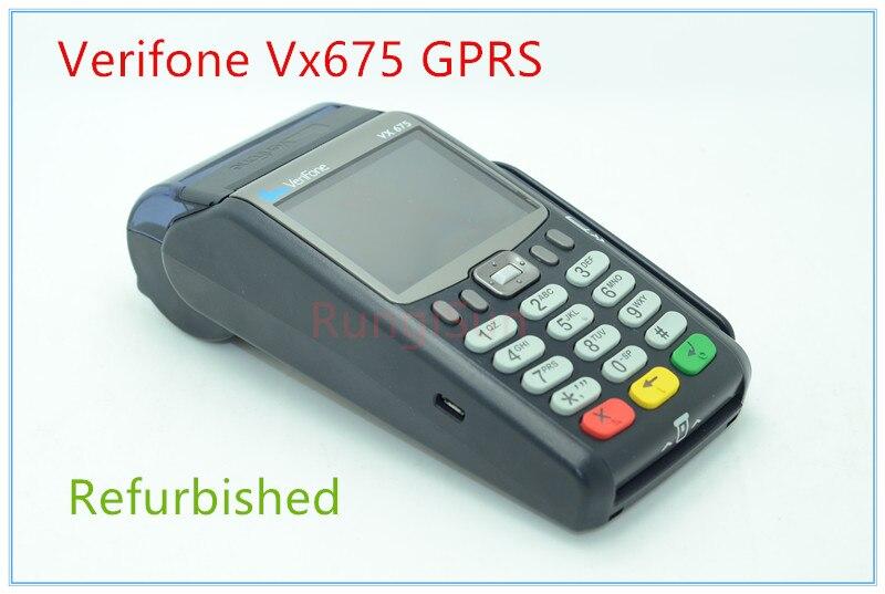 Verifone Utilisé Vx675 GPRS POS Terminaux lecteur De carte de Crédit