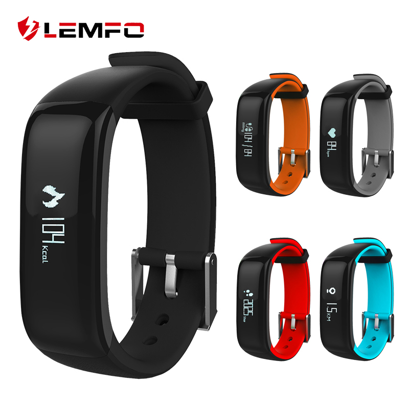 P1 Bluetooth Smart Band Support Heart Rate Monitoring Pedometer Smart Bracelet for IOS Android Phone