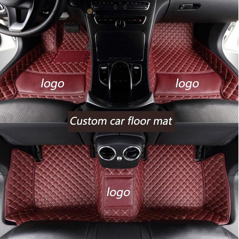 Kalaisike Personalizzato tappetini auto per Hummer tutti i modelli H2 H3 auto accessori auto stylingKalaisike Personalizzato tappetini auto per Hummer tutti i modelli H2 H3 auto accessori auto styling