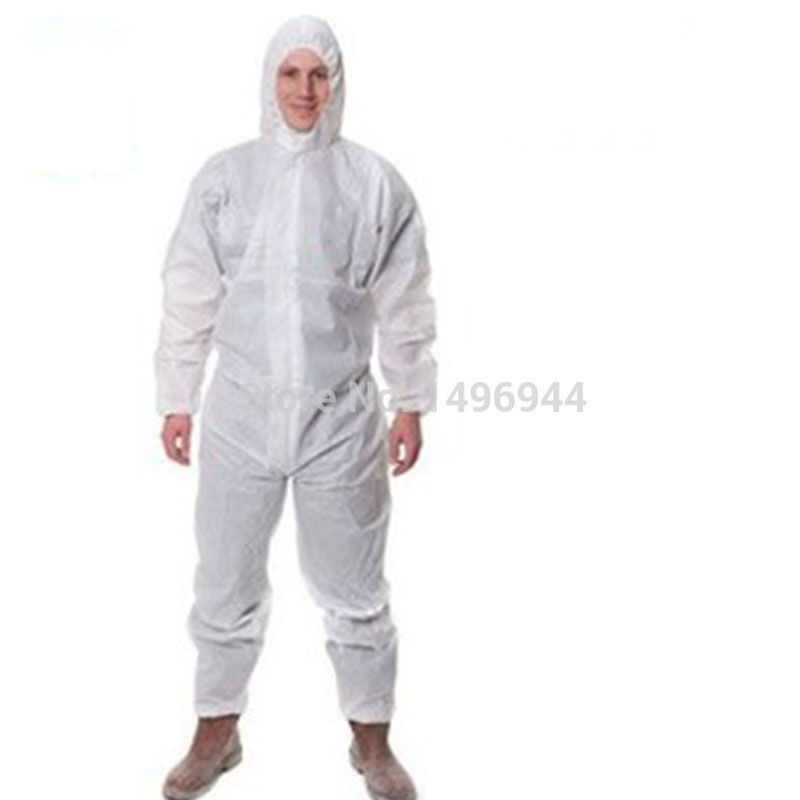 Safety clothing work Coverall Sets Protective clothing Prevent particulate matter Anti-liquid 4515 White Waterproof Breathable maritime safety