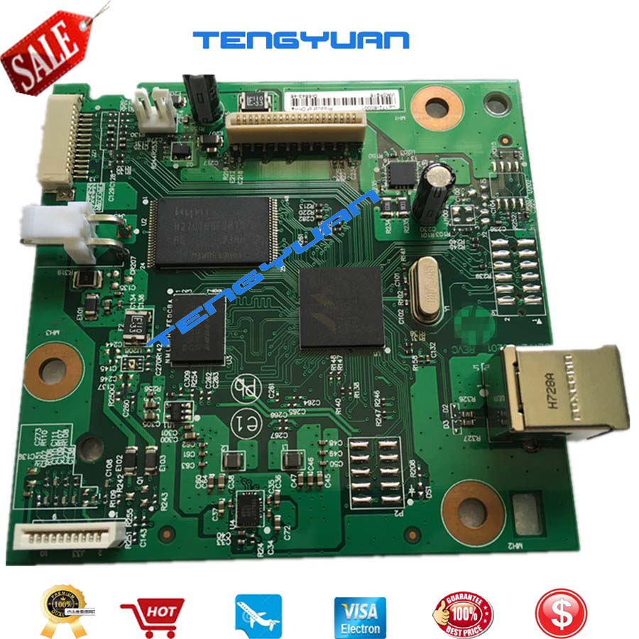 95% new Original LaserJet CZ172-60001 Formatter Board For HP LaserJet Pro M126a M126 M125A M125 126 125 Mainboard On Sale