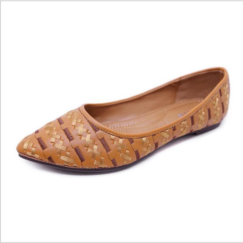 43 Plat Mujer Sucrerie De Doux 35 Chaussures Femmes Mode Mocassins Taille Grande Décontractées Zapatos rose Plats Noir Couleur D'été Pour marron Femme UwgpaOxq