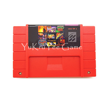 Super 100 in 1 Video Game Compilations Console Card for 16 Bit Entertainment System English Language US NTSC Version