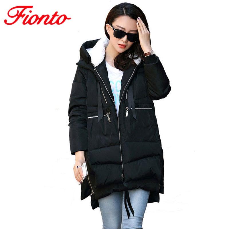 Hot Winter Jacket Women Long Warm Parka 2019 New Thick Jacket Overcoat Winter Coat Women Slim Hooded Coats M-5XL A008-1