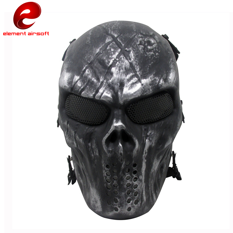New Fancy Party Cosplay Tactical Mask M06 AIRSOFT Paintball Mask Adult Full Face Production Skull Mask RoundMesh Halloween CY286 tactical skull face mask military field us active duty m50 gas mask cs field skull mask for hunting paintball