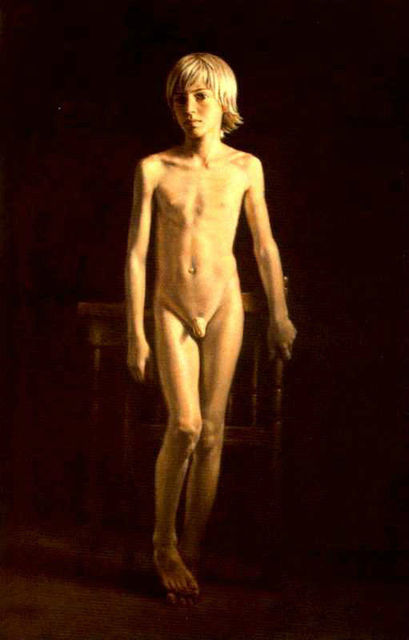Art nude male photo