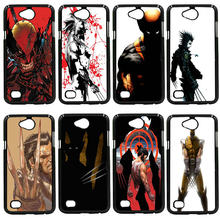 For LG L Prime G2 G4 G5 G6 G7 K4 K8 K10 V20 V30 2017 Nexus 5 6 5X Pixel Shell Marvel x men Logan Wolverine Hard PC Phone Cases(China)