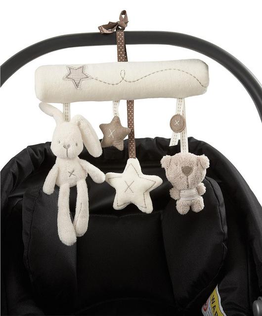 Hanging Plush Toy & Rattle