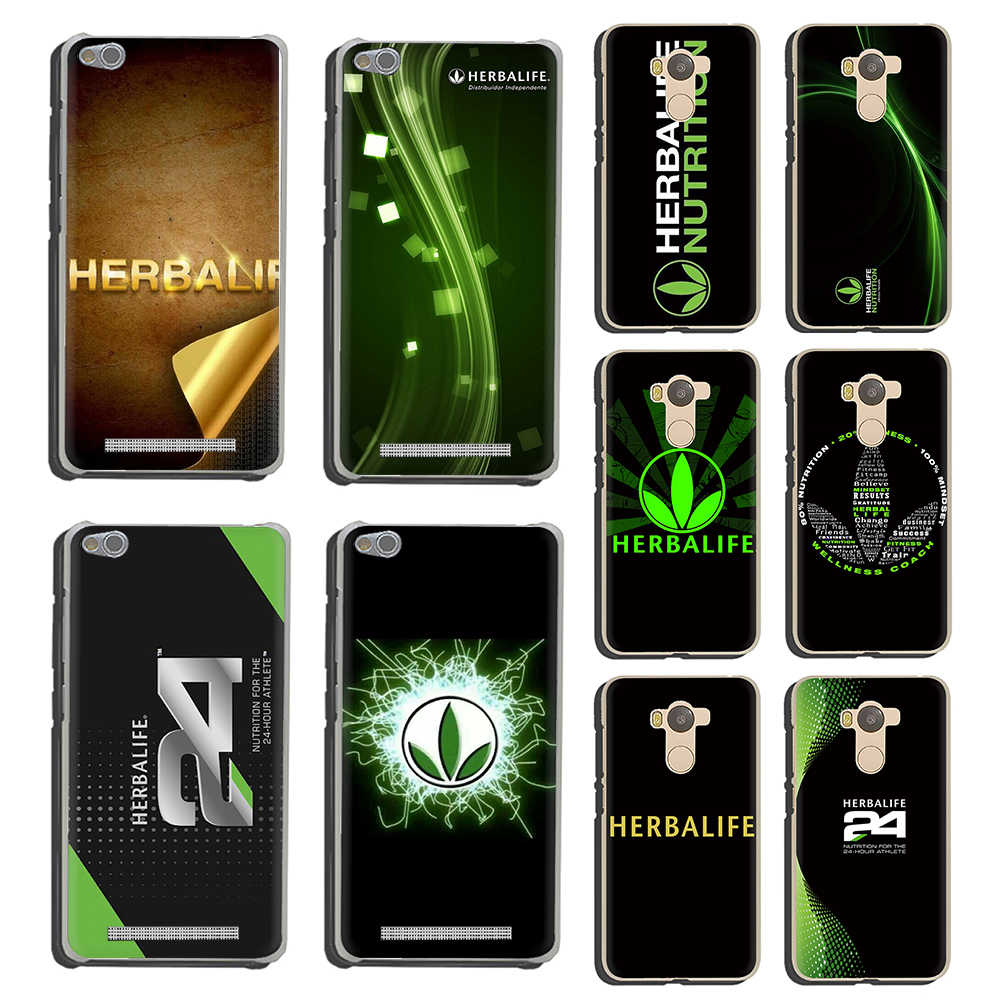 Herbalife Hard Phone Cover for Xiaomi Redmi 4A 4X 5 Plus 5A 6 Pro 6A Note 4 4X 5 6 7 8 Pro 5A Prime 7 7A 8A GO K20 Pro