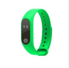 2017 hombres Calientes de las mujeres de moda Pulseras Inteligentes M2 Inteligente Reloj de Fitness Deporte Pulsera electrónica para Iphone y android Teléfono inteligente