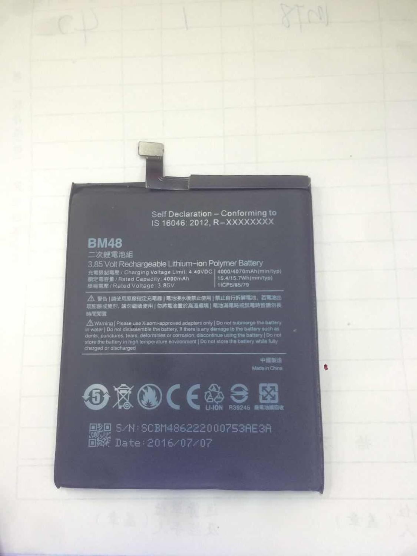 100% New Original 4000mAh BM48 For Xiaomi Note 2 Battery