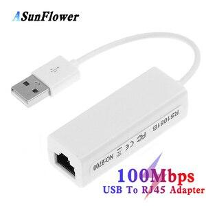 USB 2.0 To Lan RJ45 10/100 Mbp