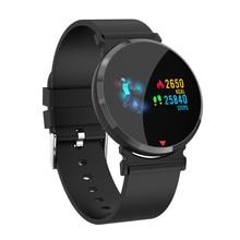 心拍数スポーツスマート時計のandroid ios携帯電話のbluetoothスマートウォッチの男性デジタル血圧スマート腕時計E28