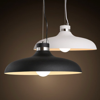 Nordic style fashion simple iron line pot pandent lamp  modern dining room study lighting