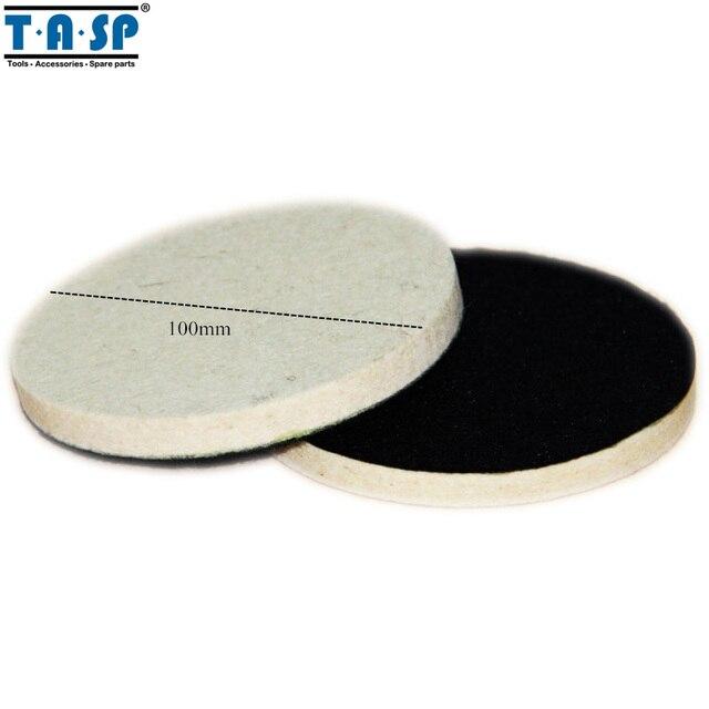 Тасп 100 мм шерсть полировки Полировка Pad для автомобиля Стекло polising