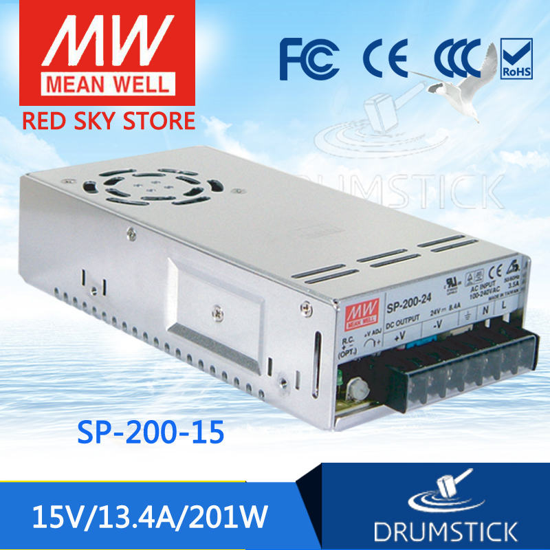 Advantages MEAN WELL SP-200-15 15V 13.4A meanwell SP-200 15V 201W Single Output with PFC Function Power SupplyAdvantages MEAN WELL SP-200-15 15V 13.4A meanwell SP-200 15V 201W Single Output with PFC Function Power Supply