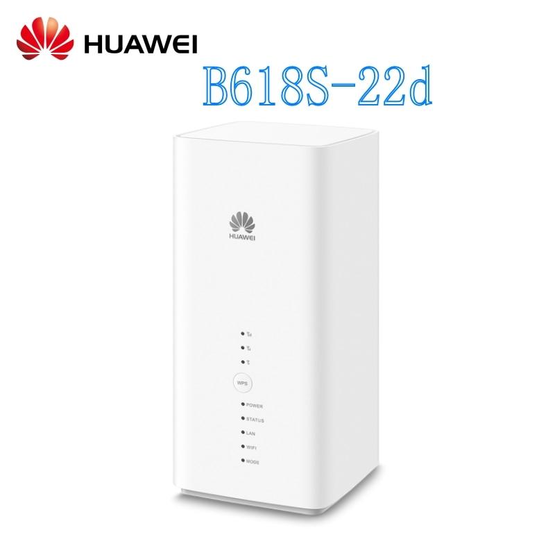 Routeur sans fil VoIP CPE d'origine Huawei B618s-22d 4G LTE FDD800/900/1800/2100/2600 Mhz TDD2600Mhz (Band1/3/7/8/20/38)
