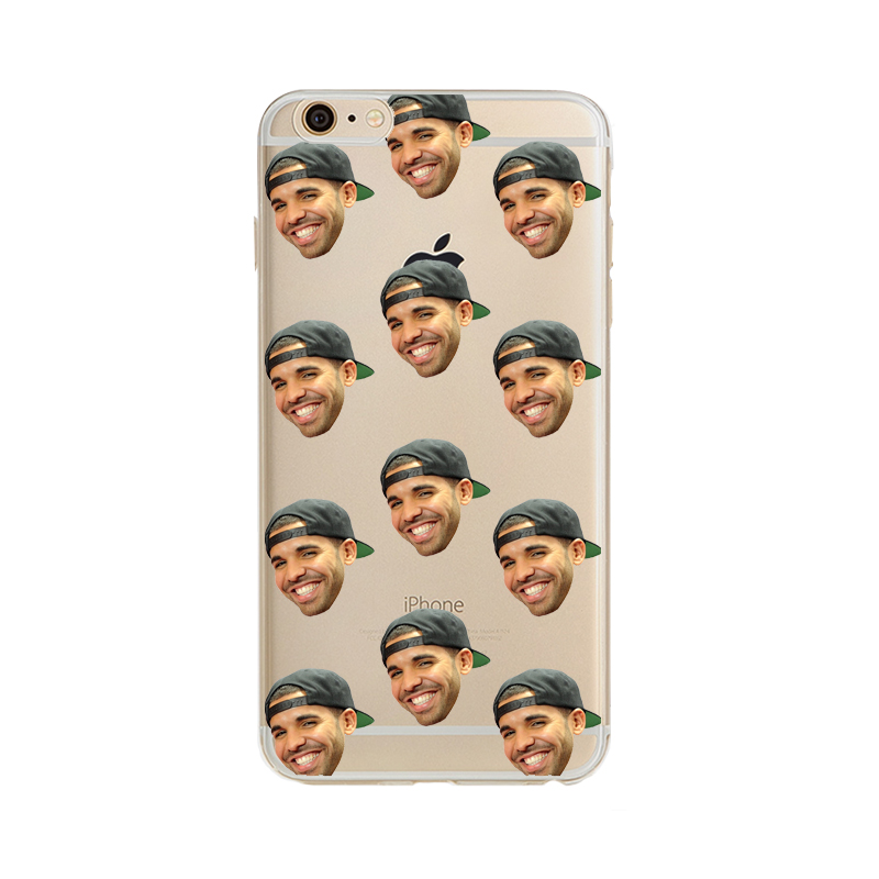 Phone case Poor Hotline bling Crying Drake Phone case Transparent Soft silicon TPU case cover for iPhone 7 7plus 6S 5S SE 6plus