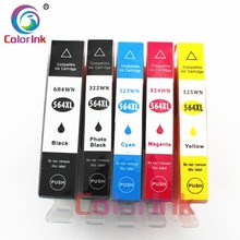 ColorInk 564 XL ink cartridge 564XL For HP 564XL hp Photosmart 4620 5510 5511 5512 5514 5515 5520 5522 5525 6510 6512 6515 print