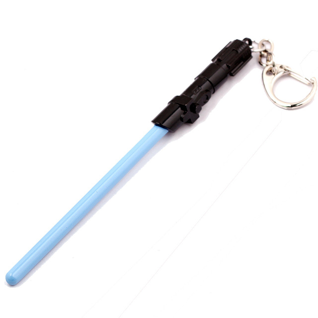 Star Wars Lightsaber Keychain Alloy Keyring (4 Colors)