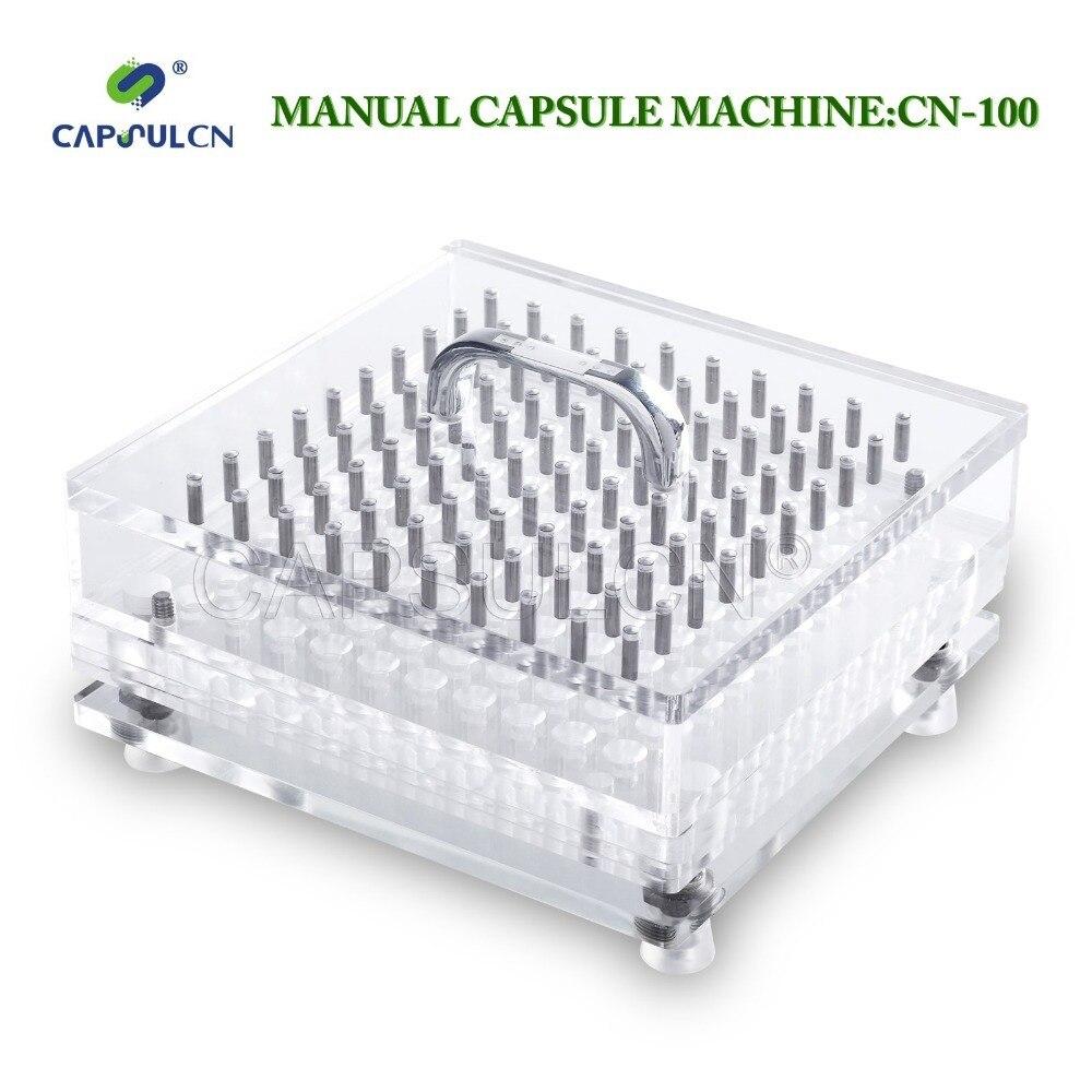 (100 holes) Size 5, High Precision, Pro Manual Capsule Filler/Capsule Filling Machine CN-100 pro skit 8pk 394b precision knife size l
