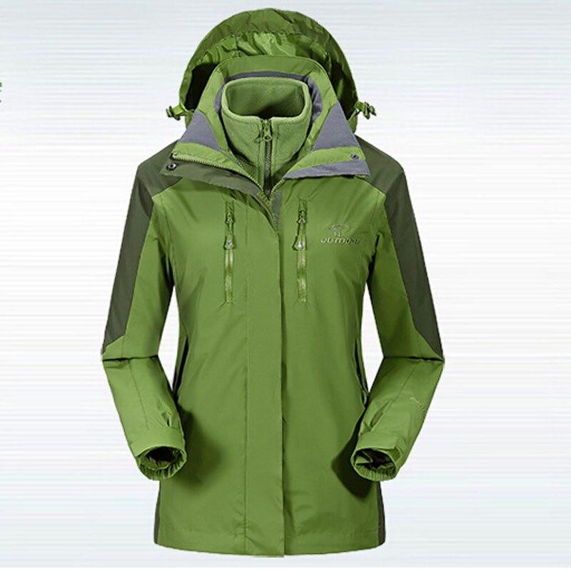ФОТО New Style Girl Outdoor Windproof Jacket Hiking Women Plus Size M-XXXL Windbreaker Tourism Waterproof Warm Ski Softshell Coats