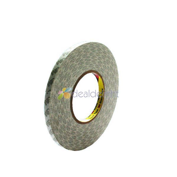 50M/Roll 10mm Double Sided Tape 3M Adhesive Tape 10mm Width for 5630 5050 Led strips, LCD screen,car light