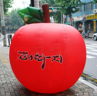 customized giant advertising inflatable tomatoes balloon for sale