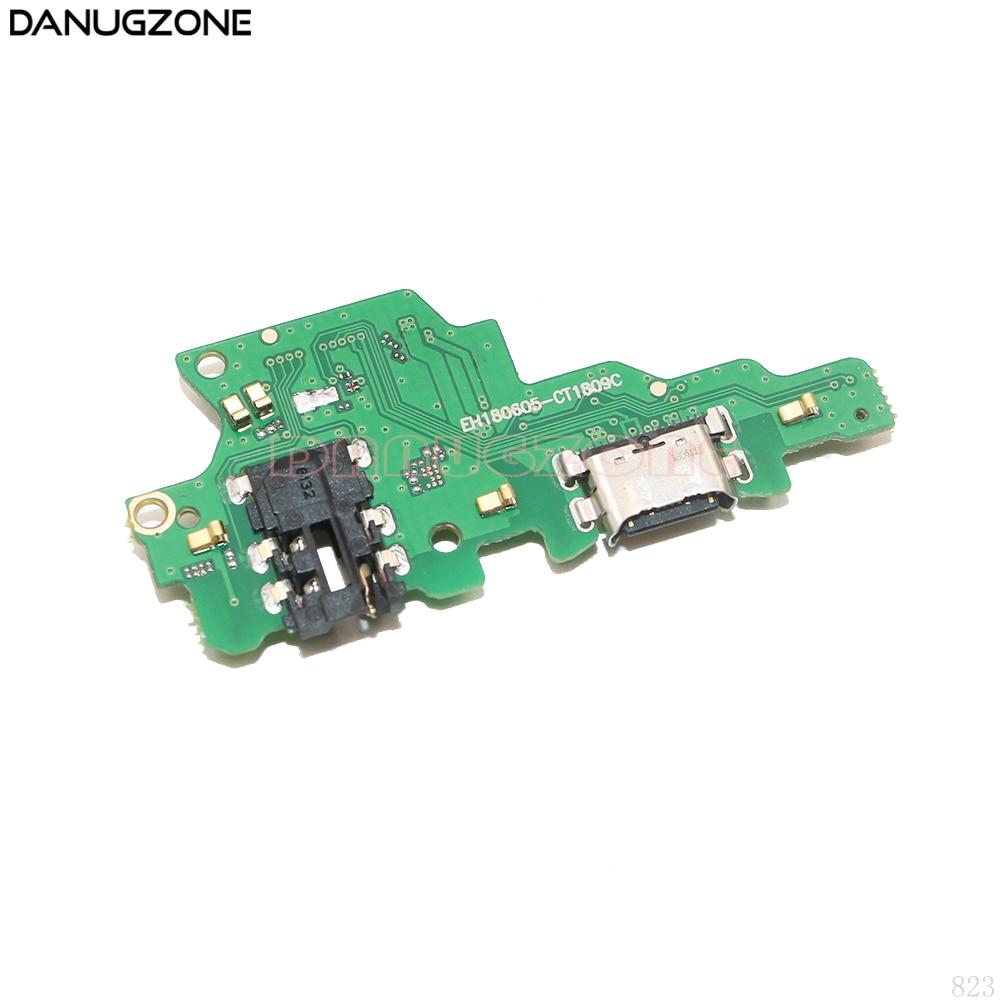 10PCS Para Huawei Honor Play COR-AL00/AL10 COR-TL10 COR-L29 Placa de Carga Doca de Carregamento USB Porto Soquete Jack Connector cabo Flex