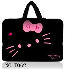 Hot Black Cat 10 12 13 14 15 17 Portable Laptop Bag Carry Cases Sleeve Netbook
