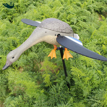 Xilei Wholesale Hunting Duck Decoys Remote Control Drake Hunting Duck Decoy With Magnet Spinning Wings